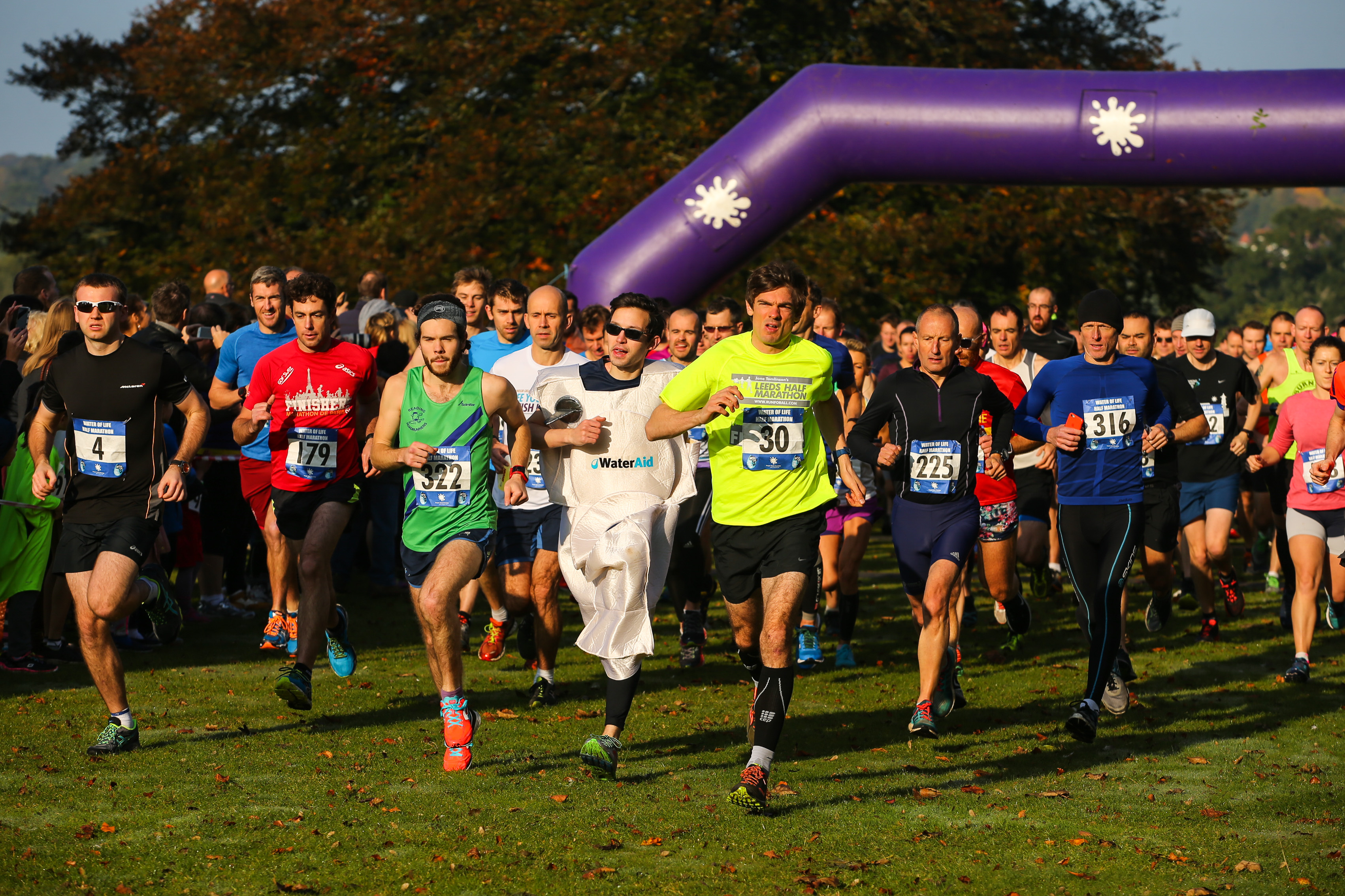 Water of Life - Marlow to Henley Half Marathon & 10K