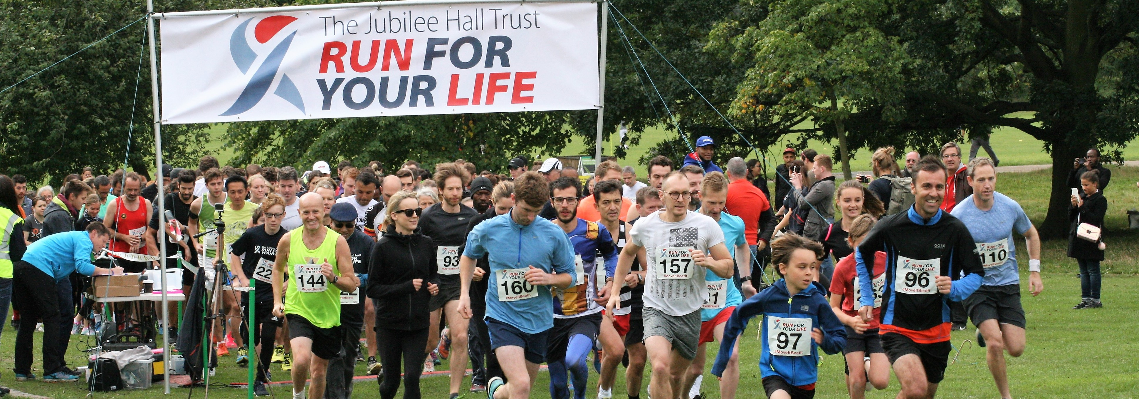 Hampstead Heath 10K, 5K and Fun Run Trail