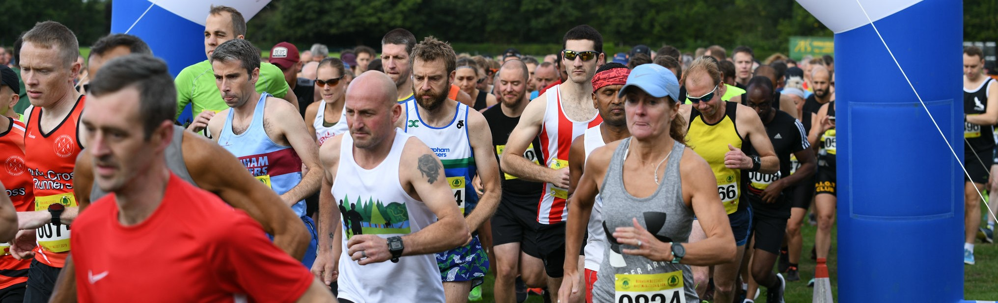 Burnham Beeches Half Marathon and 10K